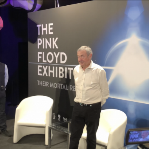 PINK FLOYD EXHIBITION COMES IN MADRID (VIDEO)
