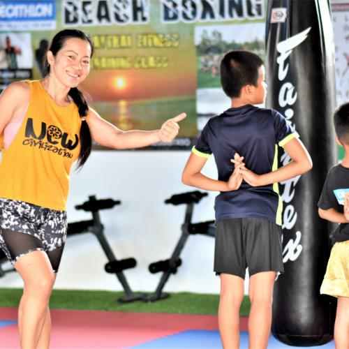 BEACH BOXING GYM: NADEAR